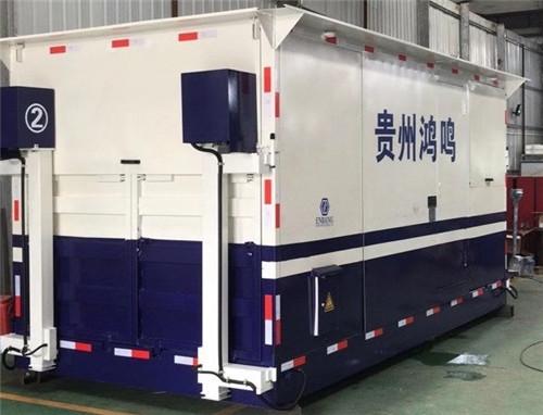 移动式摩托车优德88手机登陆优德88官方中文版交付贵州省黔西南用户