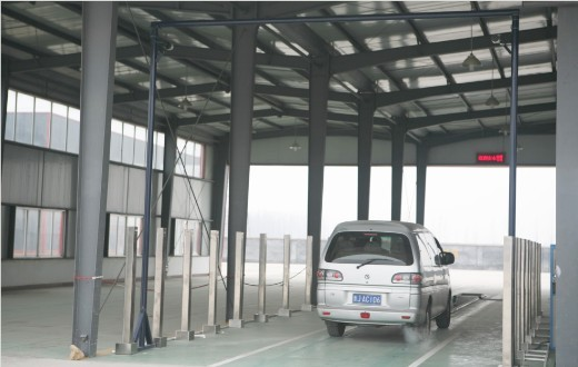 汽车外廓自动检测系统